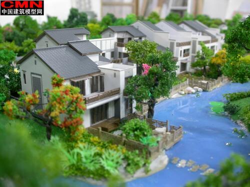 连排别墅模型-行业资讯【模型制作
