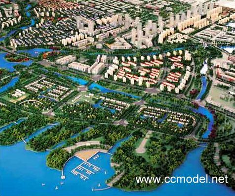 青岛出口加工区总体规划模型