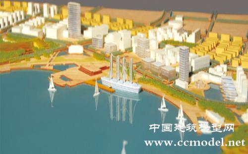临海临港新城规划模型 高清图片