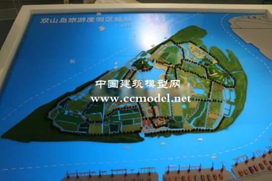 双山岛旅游度假区总体规划模型