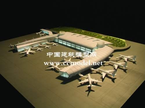 贵阳机场方案模型