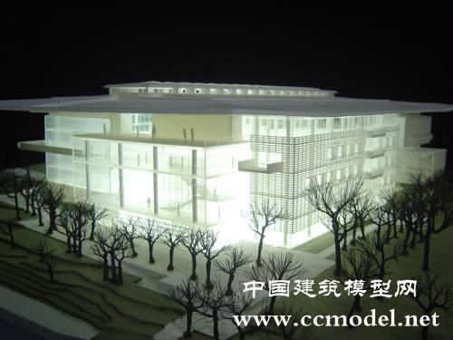 悉尼博物馆建筑模型,概念沙盘