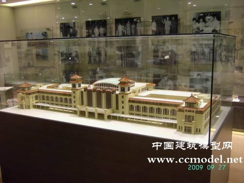 北京火车站建筑模型,北京火车站沙盘模型