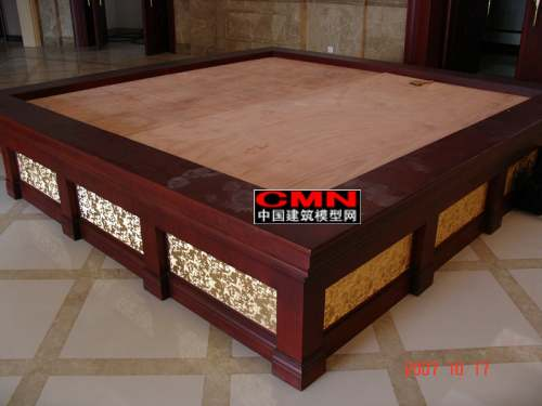 模型底座,沙盘展台,精品实木底座
