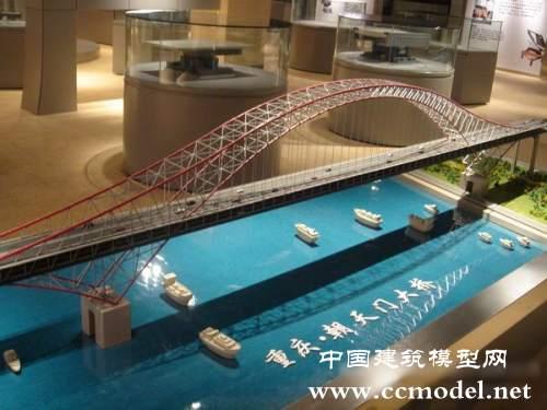 桥梁模型 桥梁模型制作 纸质桥梁模型 高清图片