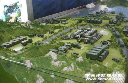 军事沙盘模型 部队沙盘 作战沙盘 推演沙盘模型
